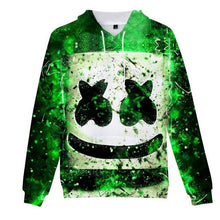 Load image into Gallery viewer, Women Men Music Hip-Hop DJ Cosplay Hoodies 3D Graffiti Print Drawstring Sweatshirt Electronic Sound Fans Party Loose Streetwear - Gadget.parts
