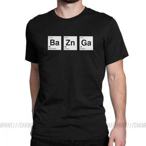 TBBT  T-Shirt  Breaking Bad style Bazinga T Shirts - The Big Bang Theory Sheldon Cooper Geek TBBT  T-Shirt - Gadget.parts