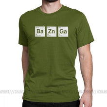 Load image into Gallery viewer, TBBT  T-Shirt  Breaking Bad style Bazinga T Shirts - The Big Bang Theory Sheldon Cooper Geek TBBT  T-Shirt - Gadget.parts