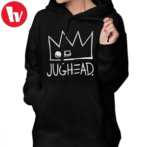 Riverdale South Side Hoodie Riverdale Hoodies Streetwear Over Sized Hoodies Women Sweet Graphic Navy Blue Cotton Pullover Hoodie - Gadget.parts