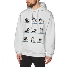 Load image into Gallery viewer, funny Dog Yoga Sweatshirt for men and women who own a cute dog gift on birthday - Gadget.parts