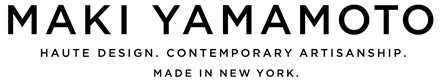 Maki Yamamoto Textile Studio have been used to create designer furniture and upholstery, lighting fixtures, pillows, drapery, window panels, bed linens, and other luxury home décor. Available in running yardage, fabric is painted, stitched, and embroidered by hand in our studio.