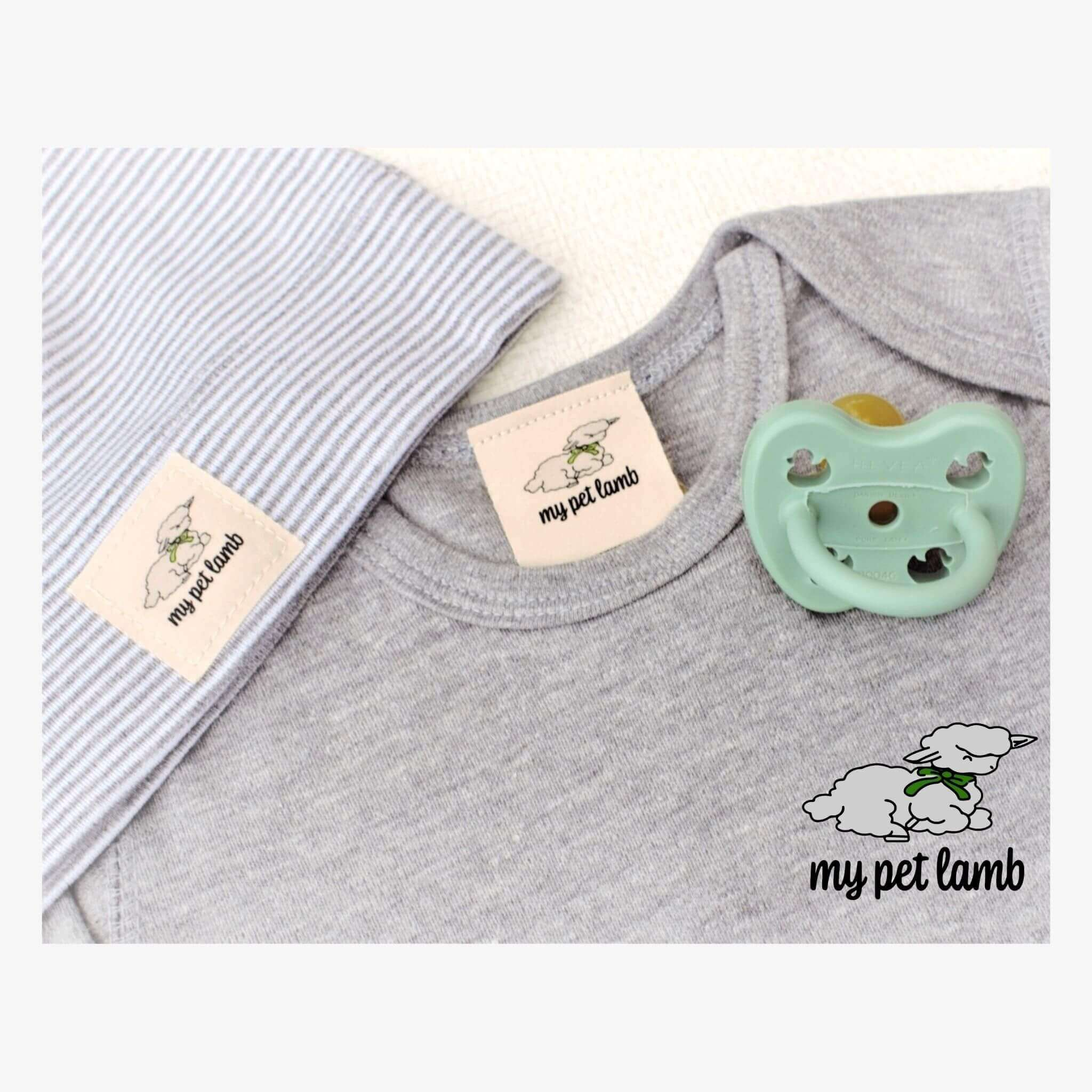 Elephant Grey Long Sleeve Body Suit