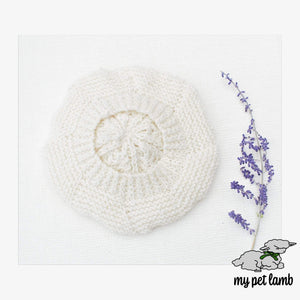 Handmade Knitted Beret Hat