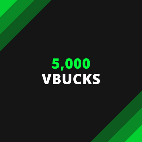 5,000 V-Bucks - Squad Boosting