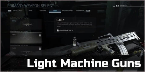 Light Machine Guns Gold - Squad Boosting