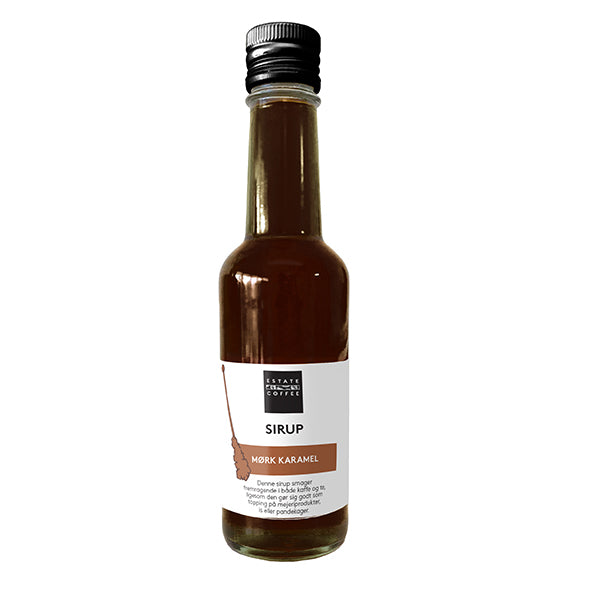Estate Coffee - Mørk karamelsirup 250ml