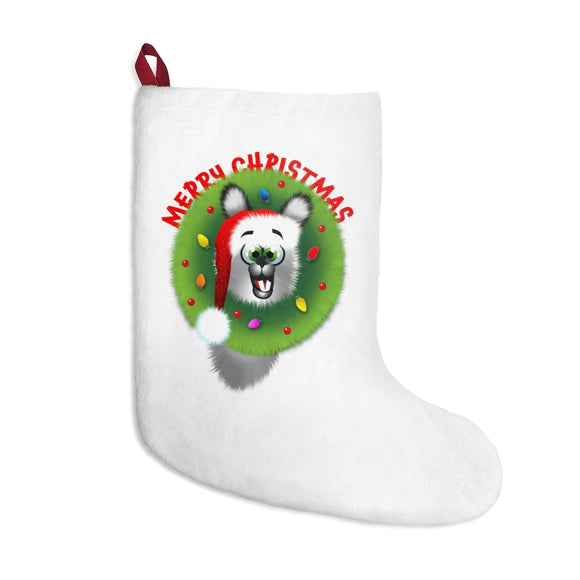 Merry Christmas llama: Christmas Stockings