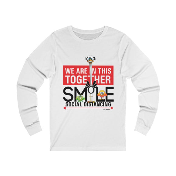 Smiling Ostrich - Unisex Jersey Long Sleeve Tee