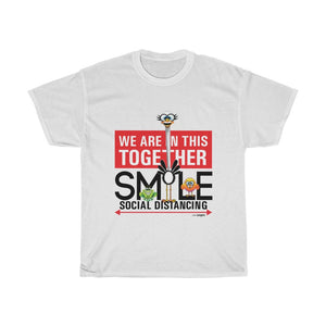 Smiling Ostrich - Unisex Heavy Cotton Tee