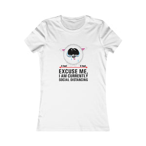 Excuse Me Kitty - Women's Fitted Tee