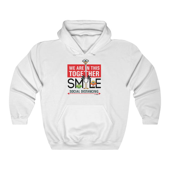 Smiling Ostrich - Hooded Sweatshirt