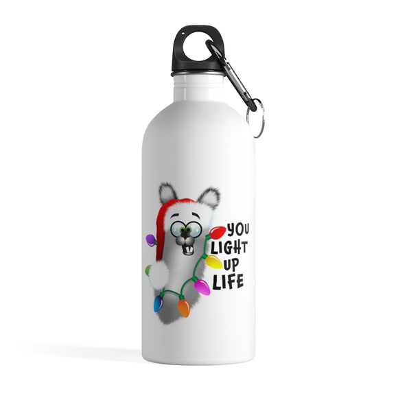 Light up your life: Stainless Steel Water Bottle