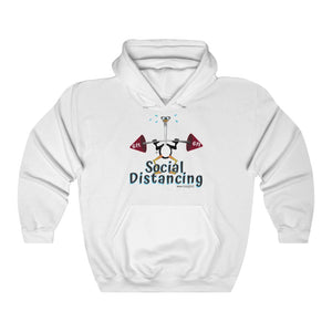 Weightlifting Ostrich - Hooded Sweatshirt