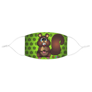Squirrel Fabric Face Mask