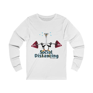 Weightlifting Ostrich - Unisex Jersey Long Sleeve Tee