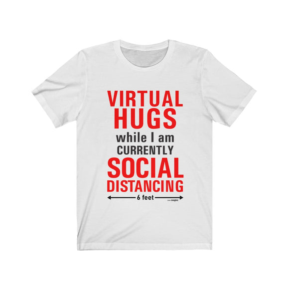 Virtual Hugs - Unisex Jersey Short Sleeve Tee