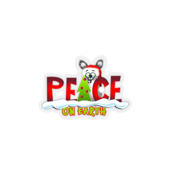 Peace on Earth: Kiss-Cut Stickers
