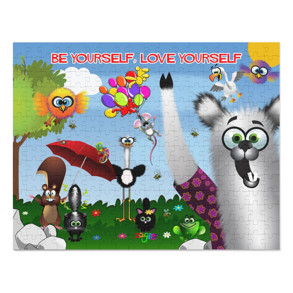 Be Yourself, Love Yourself: 252 Piece Puzzle