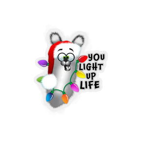 You Light up life: Kiss-Cut Stickers