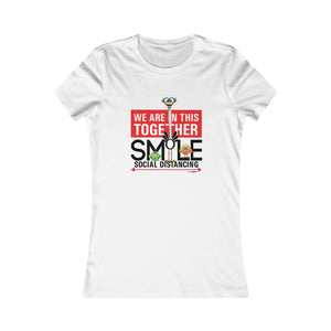 Smiling Ostrich - Women's Fitted Tee