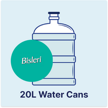Load image into Gallery viewer, Bisleri - 20Litres