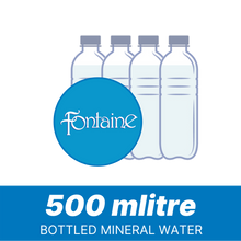 Load image into Gallery viewer, Fontaine - 500L Mineral Water ( pack of 24 )