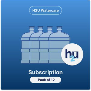 Subscription: H2U Waterplus 8+ - 20Litres