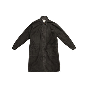 DB PAINTER LONG COAT (CROW BLACK)