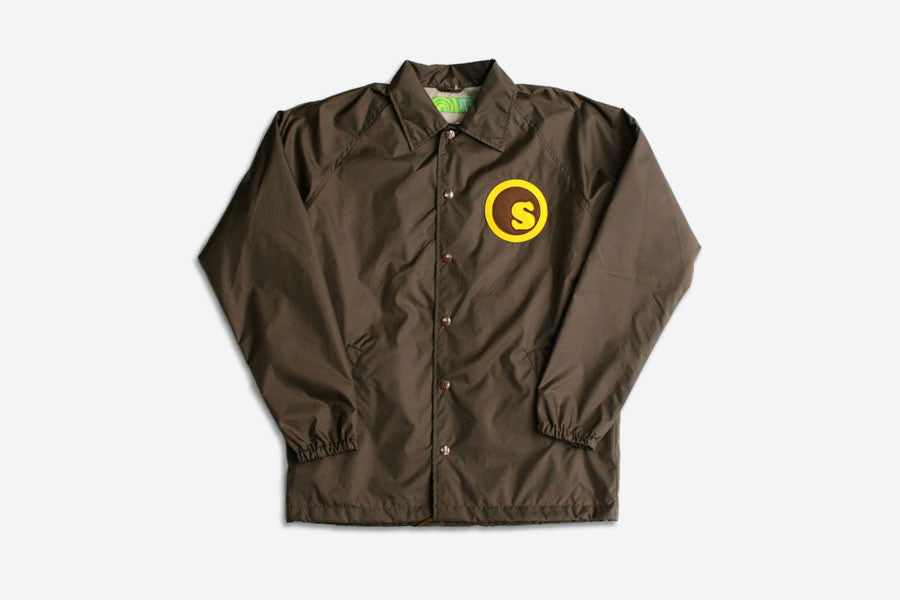 CUSTOM COACHES JACKET - Brown