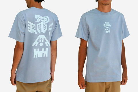 COUNTER CULTURE TEE - Blue