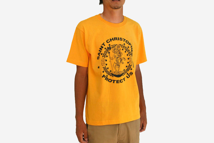 ST.CHRISTOPHER TEE - Yellow