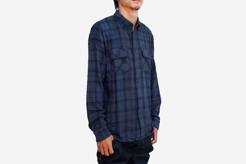 TIMBER PLAID CHECK - Navy Plaid