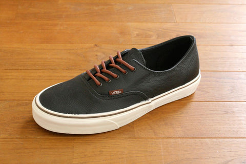 AUTHENTIC DECON CA - Natural Leather Black