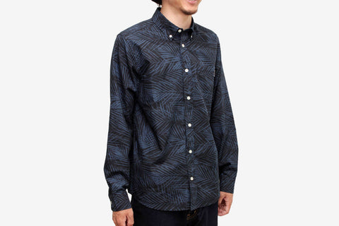 L/S CAYMAN SHIRT - Dark Blue