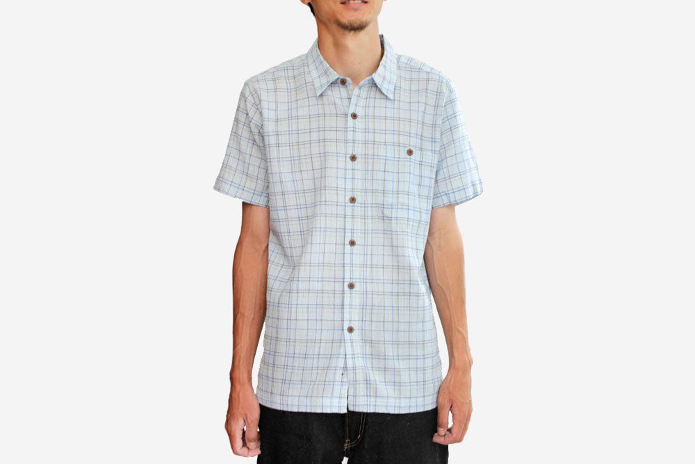 MEN'S A/C SHIRT - Murietta: Ion Blue
