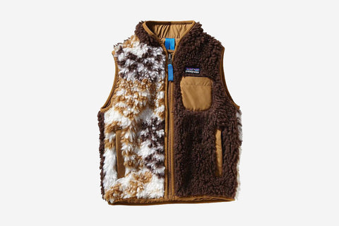 BABY RETRO-X VEST - Slipstream: Java Brown
