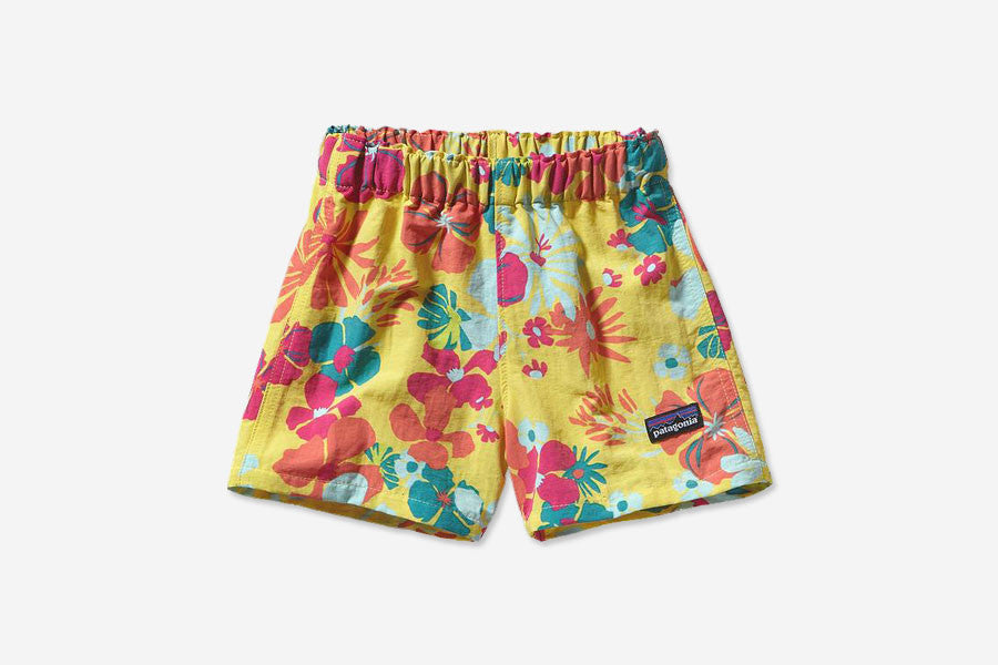 "BABY BAGGIES SHORTS 3"" - Native Leis: Pineapple"