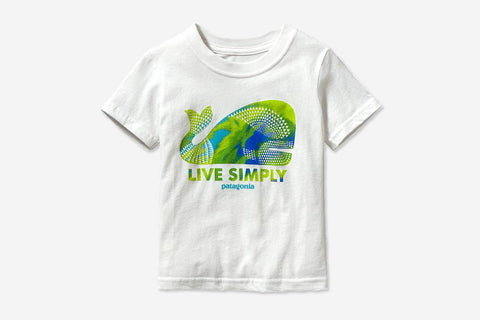 BABY LIVE SIMPLY® GEOMETRIC WHALE T-SHIRT - White