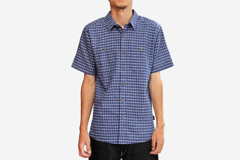 MEN'S MIGRATION HEMP SHIRT - Cuyama: Classic Navy