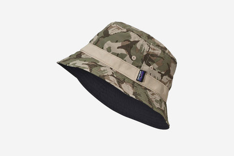 WAVEFARER BUCKET HAT - Painted Camo: Camp Green