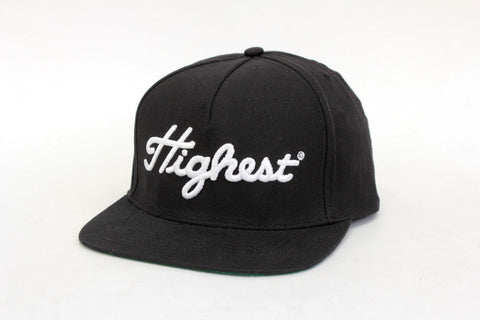 HIGHEST SNAPBACK - Black Canvas