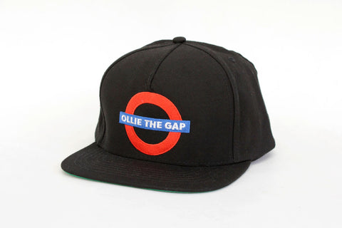 OLLIE THE GAP SNAPBACK - Black Canvas