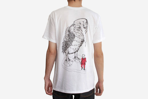 NO STRANGE DELIGHT TEE - White