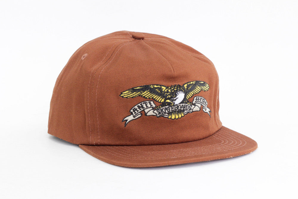 EAGLE SNAPBACK HAT - Rust Red