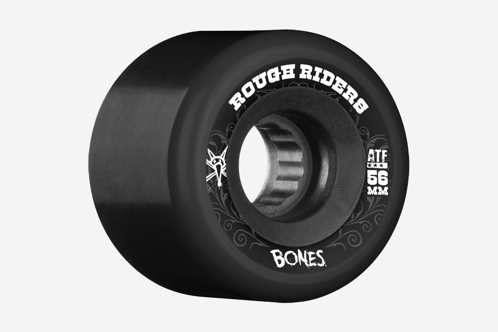 ATF ROUGH RIDERS 56MM 80A - Black