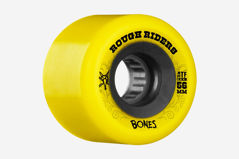 ATF ROUGH RIDERS 56MM 80A - Yellow