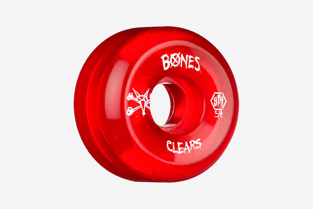 SPF CLEAR RED WHEELS 54MM 84B