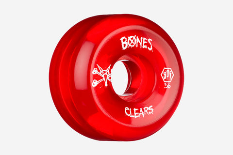 SPF CLEAR RED WHEELS 56MM 84B