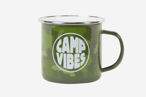 CAMP MUG - Green Furry Camo